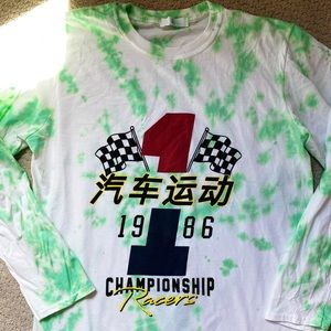 misguided racing vintage tee
